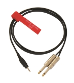 RED'S AU1715BLK Kabel audio MJS/2JM 1,5m