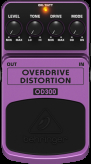 BEHRINGER OD300 Overdrive Distortion efekt gitar.