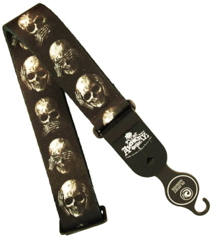 PLANET WAVES 50AL01 Muted Skull pasek
